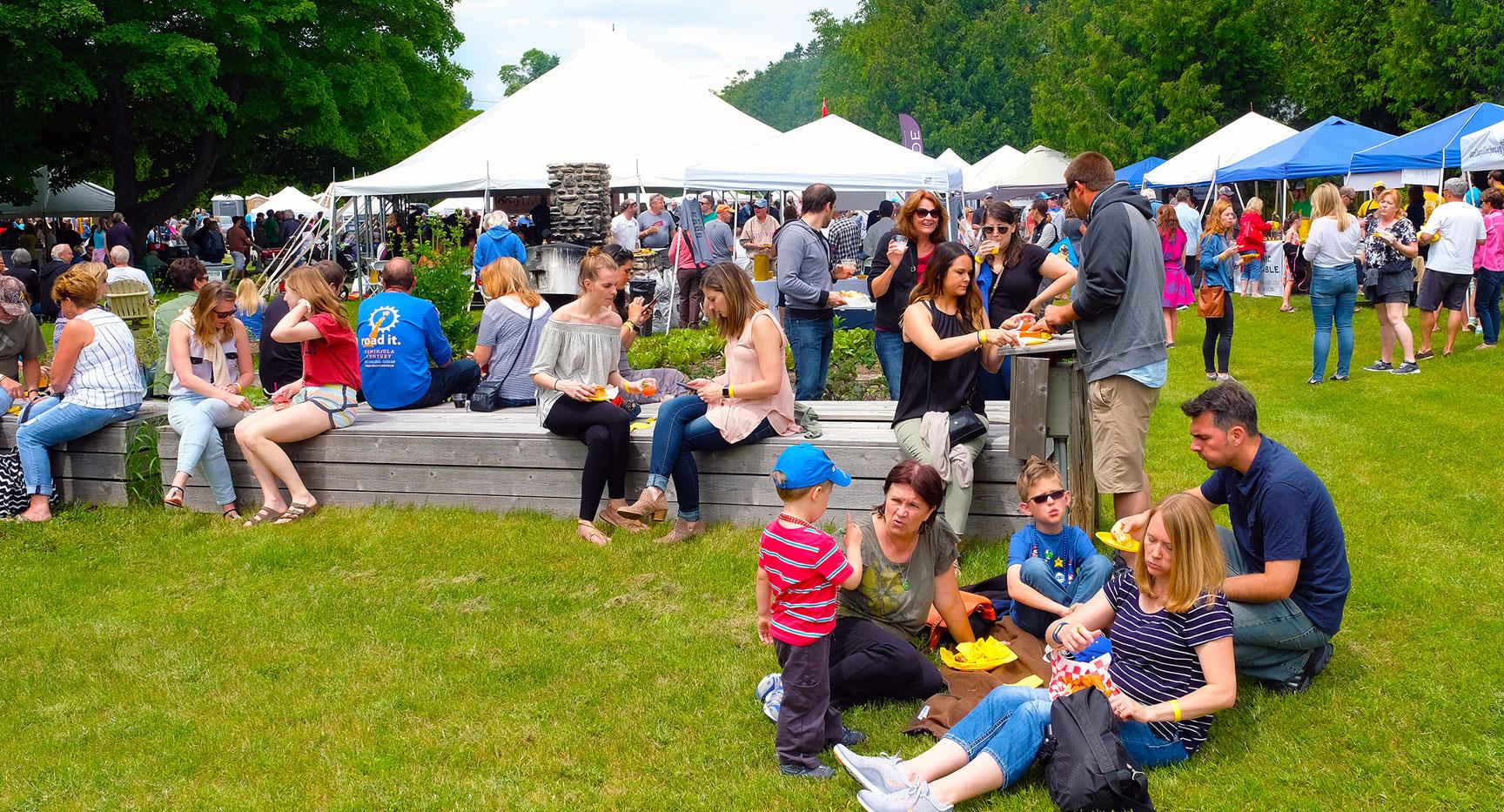 Uncork Summer The Door County Food Wine Music Festival